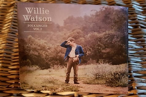 "Willie Watsons nya album ""Folk Singer Vol. 2"" (Foto: Pär Dahlerus)"